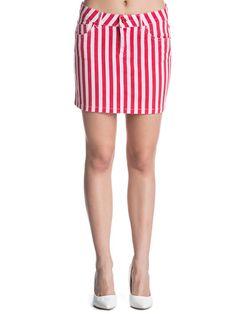Women's skirt KOTON - rosu