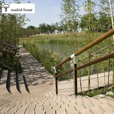 #pavimento de #bambú de #exterior