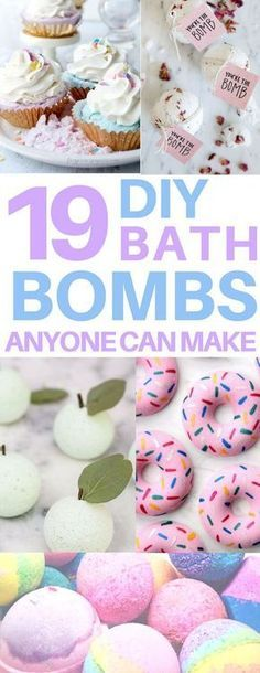 Adorable diy bath bombs just like the lush bath bombs! I love bath fizzies like … Adorable diy bath bombs just like the lush bath bombs! I love bath fizzies like these and they even have a bath bomb recipe without citric acid or cream of tartar. Homemade Beauty, Homemade Gifts, Homemade Stuff To Sell, Diy Stuff, Diy Para A Casa, Fun Crafts, Crafts For Kids, Diy Arts And Crafts, Diy Cadeau Noel