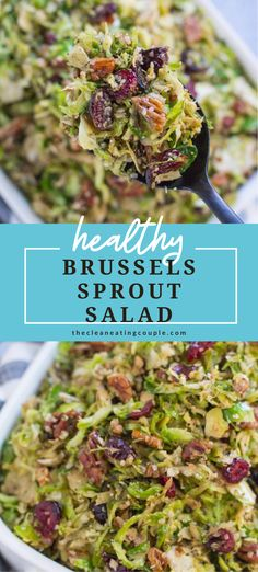 Healthy Vegetable Recipes, Healthy Vegetables, Paleo Recipes, Whole Food Recipes, Paleo Food, Paleo Diet, Healthy Brussel Sprout Recipes, Salad Recipes Vegan, Simple Salad Recipes