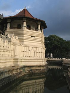 Temple of the Tooth, Kandy, Sri Lanka.