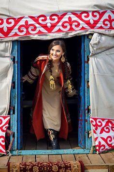 Kazak TÜRK kızı...
