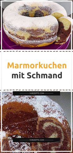 Marmorkuchen mit Schmand – Page 2 – Rezepte Marble cake with sour cream – Page 2 – Recipes Berry Smoothie Recipe, Easy Smoothie Recipes, Snack Recipes, Homemade Frappuccino, Frappuccino Recipe, Brownies Cacao, Fudge, Sour Cream Cake, Marble Cake