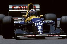 Formula One, last grand prix of Alain Prost in Adelaide, Australia on November 06, 1993.