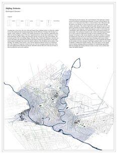 Flooding Mechanisms, Bra, Driva & Ribot - ATLAS OF PLACES Site Analysis Architecture, Architecture Board, Architecture Visualization, Architecture Drawings, Architecture Portfolio, Context Map, National Geographic Maps, Landscape And Urbanism, Unique Maps