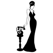 Kết quả hình ảnh cho siluetas de mujer con vestido