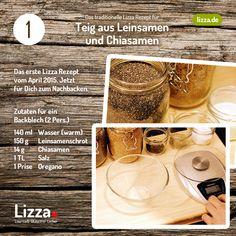 Rezept für Low-carb Pizza Teig aus Chia- und Leinsamen Rückblick Dieses einfache und leckere Rezept für einen Teig aus Leinsamen und Chiasamen haben wirAnfang