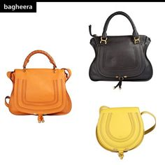 From CHLOE': Marcie Large Shoulder Bag Black / Borsa in Pelle Marcie Large Nera – buy on: http://ow.ly/njhfb; Marcie Medium Handbag with strap Orange / Borsa in Pelle Marcie Medium Handbag con Tracolla Arancione – buy on: http://ow.ly/njhn7; Marcie Round Small Leather Bag Yellow / Borsa a Tracolla Marcie Round Small Gialla – buy on: http://ow.ly/njhxQ.