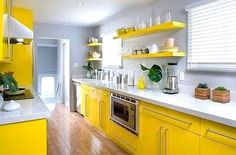 i could do yellow in the kitchen :)