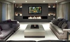 modern luxury living room ideas - Google Search