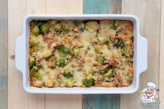 Oven dish with Brussels sprouts and bacon - Lowcarbchef.nl - This low-carb oven dish with Brussels sprouts, bacon, cream and grated cheese is tasty, healthy and - Super Healthy Recipes, Healthy Cooking, Low Carb Recipes, Sprouts With Bacon, Oven Dishes, Go For It, Happy Foods, Gluten Free Chicken, Food Inspiration