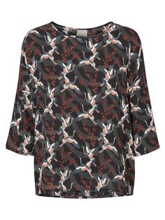 78a95c60482b HIGH-LOW 3 4 SLEEVED TOP