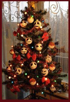"""""""handmade """"tim burton """"xmas tree"""