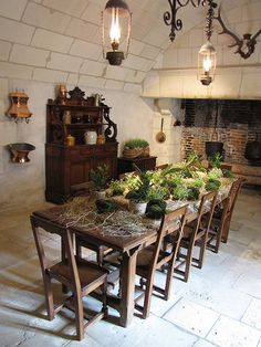 Kitchens at Chenonceau