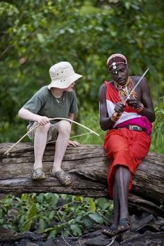 Meet the Maasai in Tanzania. Love this photo! Experience real Tanzania. http://www.aventure.co.uk/Tanzania-Venture.html #gapyear #travel #africa