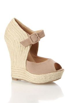 Espadrille Wedges - if only I hadn't broken my foot and could still wear these beautiful shoes!
