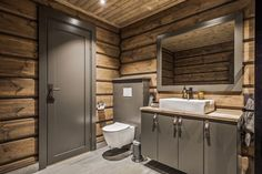 33 Awesome Rustic Style Winter Bathroom Decoration Ideas - Now that there is a slight chill in air and winter is well on its way, this would be a good time to start preparing the bathroom for that long cold se. Lake House Bathroom, Cabin Bathrooms, Rustic Bathrooms, Rustic Style, Modern Rustic, Electric Showers, Timber Cabin, Mountain Cottage, Bath Tiles