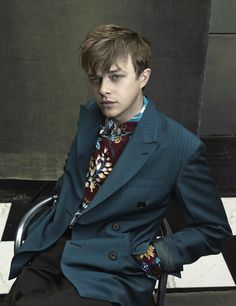Dane Dehaan - one more time - for Prada SS 2014 campaign lensed by Annie Leibovitz l #fashion #menswear #actor
