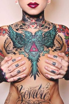 My latest tattoo craving...a beautiful chest piece <3