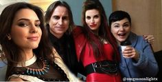 Kendall Jenner and a part of the Once Upon A Time cast manip made by me