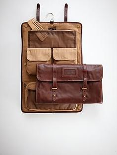 So many great gifts for dad on this site, we chose this super stylish travel bag to pin.