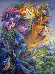 TheThreeGraces by Josephine Wall