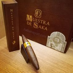 The Muestra de Saka Unicorn Diademas Deluxe cigar was blended with the top 2% of Grade A+ tobacco hand selected by Steve Saka. Only 1,000 cigars were crafted and was a goal of his to create the most superior cigar.