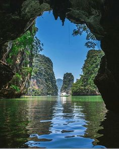 This place looks insane! Phang Nga Bay, Thailand. Photo by @onthere