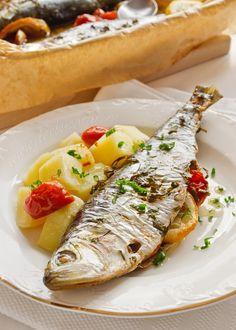Scrumbie la cuptor Favorite Recipes, Ethnic Recipes, Food, Fine Dining, Essen, Meals, Yemek, Eten