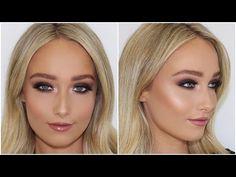 Dark Brown Smokey Eye Makeup Tutorial ♡ Jasmine Hand - YouTube
