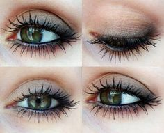 #Makeup #Green #Eyes #Maquillage #Vert #Yeux #Soirée #Journée #Night #Day