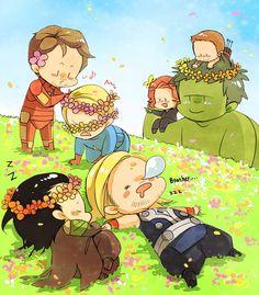 Little Avengers :)