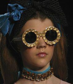 Round Jeweled Sunglasses 2012 - Viktor &  Rolf
