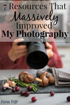 These 7 resources MASSIVELY improved my photography skills. They're amazing - and a bunch of them are free! These 7 resources MASSIVELY improved my photography skills. They're amazing - and a bunch of them are free! Improve Photography, Food Photography Tips, Photography Basics, Photography Lessons, Photography For Beginners, Photoshop Photography, Photography Tutorials, Digital Photography, Photography Books