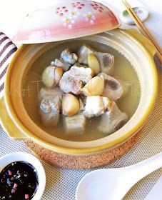 Bak Kut Teh (Spare Rib Soup) | Recipe | Green Papaya, Cinnamon Sticks ...