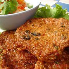 THAI CUISINE RECIPES | THAI FISH CAKES (Tod Man Pla) | Thai Food Recipes