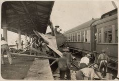 After a cyclone, Kalgoorlie Station, Western Australia, 10 February 1928