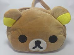 New Rilakkuma Plush Shoulder Bag only 90.000 IDR. Find at www.kawaiishoppu.com Promo Free Shipping until 31 December 2013