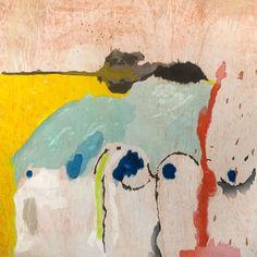 Tales of Genji I, Helen Frankenthaler Helen Frankenthaler, Robert Rauschenberg, Jackson Pollock, Joan Mitchell, Kandinsky, Post Painterly Abstraction, Colorful Abstract Art, Collage, Abstract Painters