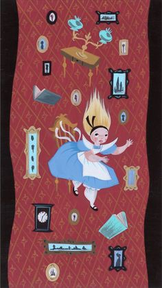 Mary Blair's Alice