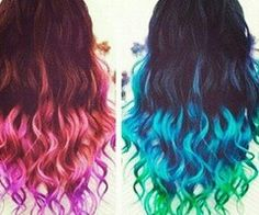 Red,Pink,and Purple and Blue,Light blue and Green