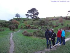 The grounds were huge and fans of the movie The Hobbit were very impressed