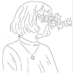 aesthetic outline drawings drawing easy sketch indie minimalist tattoos sketches dreams uploaded user blind sketchbook