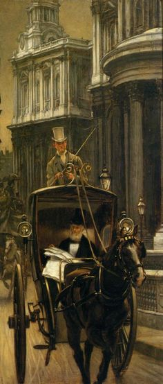 Going to Business by James Tissot