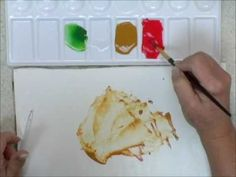 Mixing Colors For Watercolors - Converting Acrylics to Watercolors