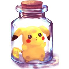 /Pikachu/#197373 - Zerochan ❤ liked on Polyvore featuring pokemon, anime, drawings, fillers and backgrounds