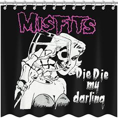 Misfits  Shower Curtain -- Click image to review more details.