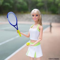 Tennis time!  #montauk #barbie #barbiestyle