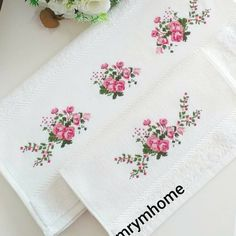 Small Cross Stitch, Cross Stitch Art, Cross Stitch Borders, Cross Stitch Designs, Cross Stitch Patterns, Floral Embroidery Patterns, Hand Embroidery Stitches, Crewel Embroidery, Needlepoint