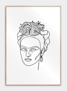 Kissing in one line plakat Outline Drawings, Cool Art Drawings, Art Drawings Sketches, Dress Sketches, Face Line Drawing, Drawing Tips, Chemistry Art, Frida Art, Line Artwork